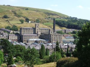 Marsden Mill from a distance