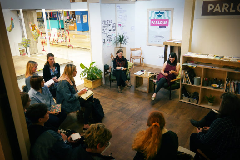 Talk at Parlour for WOVEN 2019