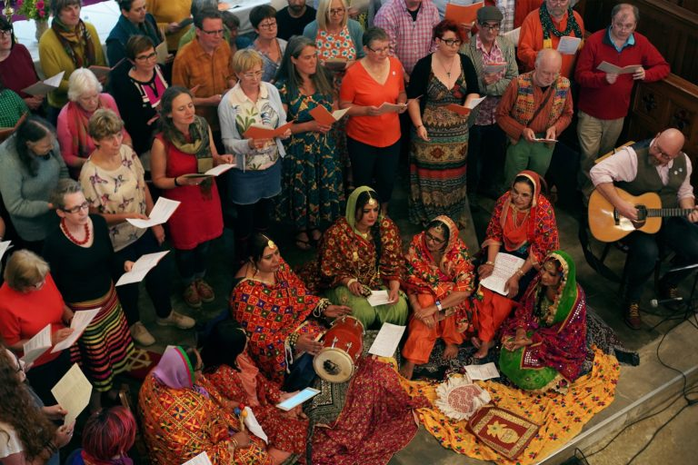 Woven into Song choir and Boliyan singers