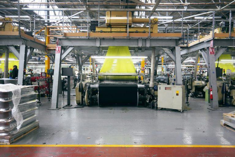 Machinery at Camria